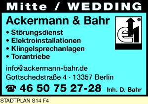 Ackermann & Bahr, Inh. D. Bahr
