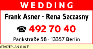 Asner, Frank und Rena Szczasny