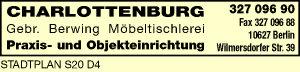 Berwing, Gebr., Möbeltischlerei