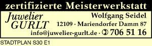 Logo von Juwelier Gurlt, Wolfgang Seidel