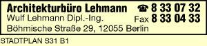 Logo von Lehmann Wulf Dipl.-Ing.