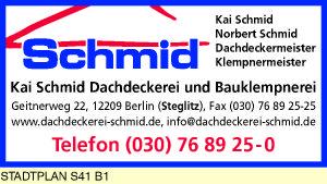 Schmid, Kai - Dachdeckerei und Bauklempnerei