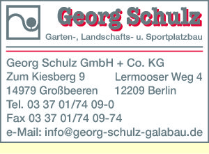 Schulz Garten-, Landschafts- und Sportplatzbau GmbH + Co. KG