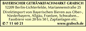 Bayerischer Getränkefachmarkt Grabsch