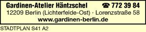 Häntzschel, Gardinen-Atelier