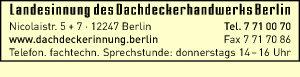 Landesinnung des Dachdeckerhandwerks Berlin