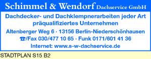 Schimmel & Wendorf Dachservice GmbH