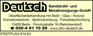 Deutsch Sandstrahl- und Metallreinigungs-GmbH