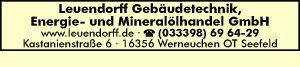 Leuendorff Gebäudetechnik, Energie- und Mineralölhandel GmbH