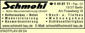 Schmohl + Sohn Bauunternehmung GmbH