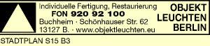 Buchheim Objekt Leuchten Berlin