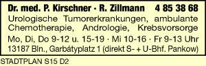 Kirschner, P., Dr. med. und<P>R. Zillmann