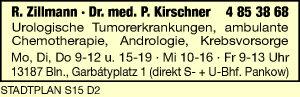 Zillmann, R. und<P>Dr. med. P. Kirschner