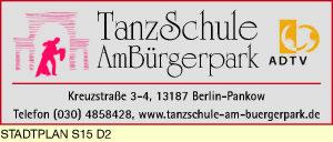 Logo von Tanzschule am Bürgerpark