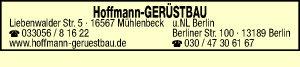 Hoffmann Gerüstbau