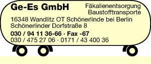 Ge-Es GmbH