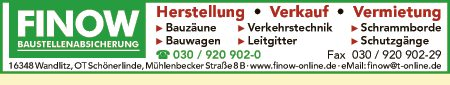 FINOW Vermietungs-Service GmbH