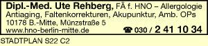 Logo von Rehberg Ute Dipl.-Med.