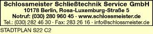 Schlossmeister Schließtechnik Service GmbH
