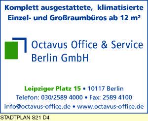 Logo von Octavus Office & Service Berlin GmbH
