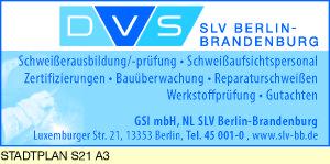 GSI-Gesellschaft für Schweißtechnik International mbH, NL SLV Berlin-Brandenburg