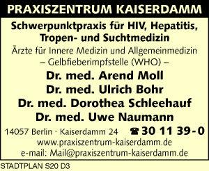 Moll, Arend, Bohr, Ulrich, Schleehauf, Dorothea, und Uwe Naumann, Dres. med.
