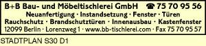 B + B Bau- u. Möbeltischlerei GmbH