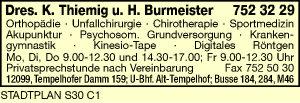 Thiemig, K. und H. Burmeister, Dres.