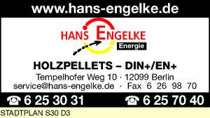 Engelke, Hans, Energie OHG