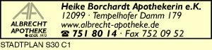 Albrecht-Apotheke, Heike Borchardt e.K.