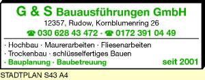 G & S Bauausführungen GmbH