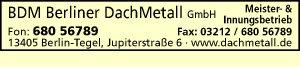 BDM Berliner DachMetall GmbH