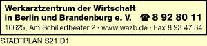 Werkarztzentrum der Wirtschaft in Berlin und Brandenburg e. V.
