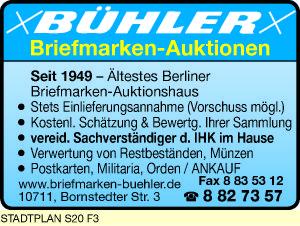 Bühler Briefmarken-Auktionen
