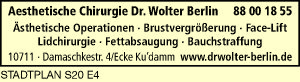 Aesthetische Chirurgie Dr. Wolter Berlin