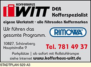 Logo von Kofferhaus Witt