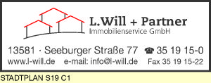 Will + Partner Immobilienservice GmbH, L.