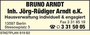 Arndt, Bruno, Inh. Jörg-Rüdiger Arndt e.K.