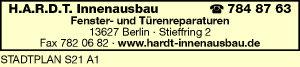 H.A.R.D.T. Innenausbau