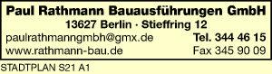 Rathmann Bauausführungen GmbH