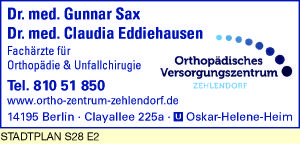 Sax, Gunnar, Dr. med und Dr. med. Claudia Eddiehausen