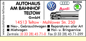 Autocentrum am Bahnhof Teltow GmbH