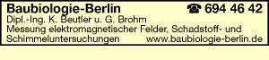 Beutler, K., Dipl.-Ing. und G. Brohm