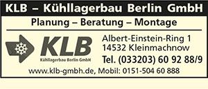 KLB - Kühllagerbau Berlin GmbH
