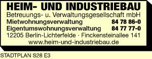 Heim- und Industriebau Betreuungs- u. Verwaltungsgesellschaft mbH