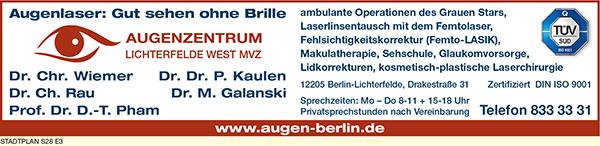 Augenzentrum Lichterfelde West MVZ - Wiemer, C., Dr., Kaulen, P., Dr. Dr.