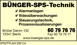 Bünger-SPS-Technik