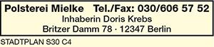 Mielke, Inh. Doris Krebs
