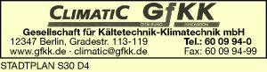 CLIMATIC GfKK Gesellschaft f. Kältetechnik-Klimatechnik mbH