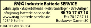 MAG Industrie Batterie SERVICE